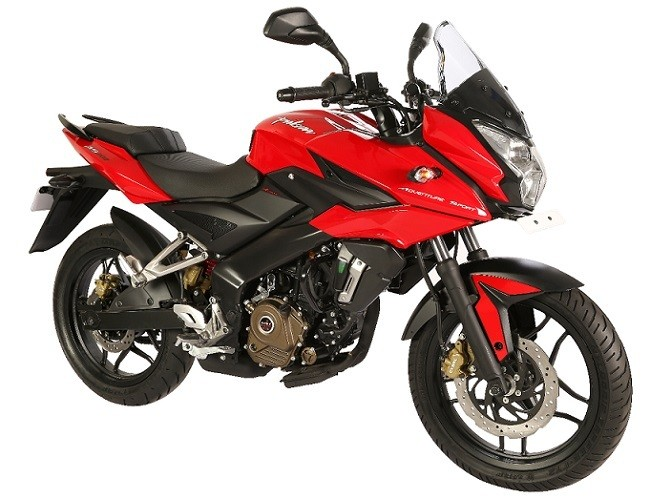 Bajaj Pulsar AS200 front-side profile picture
