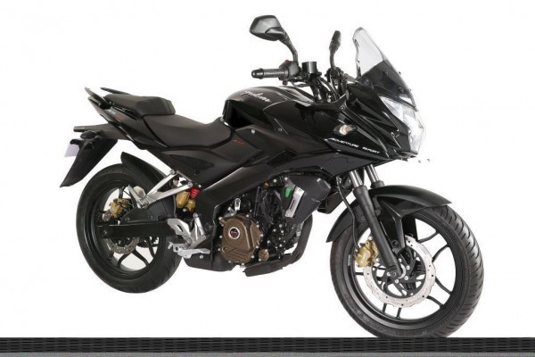 New Bajaj Pulsar AS150 in Black Colour
