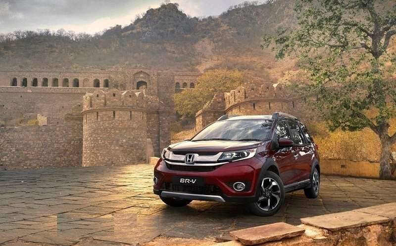 Honda BR-V price in india