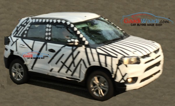 Maruti Suzuki YBA spied side profile