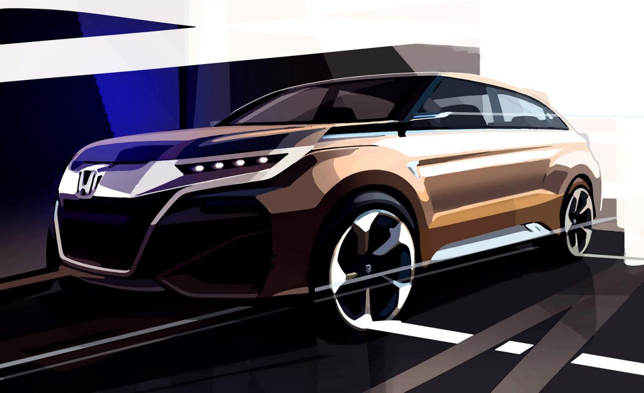 honda compact suv to get seven seat option debut at 2016 auto expo. Black Bedroom Furniture Sets. Home Design Ideas