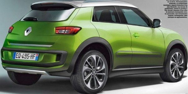 Renault's urban compact SUV rear