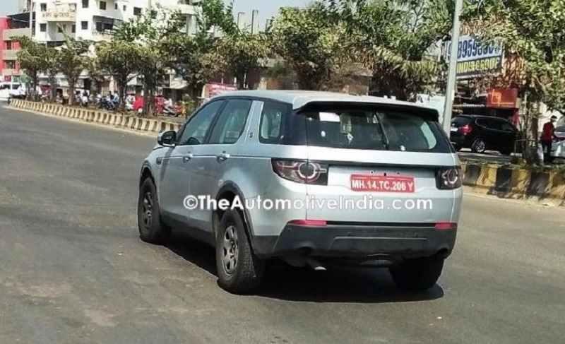 Tata Q501 SUV rear spied