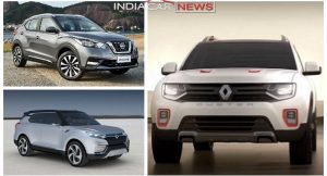 Upcoming New SUVs in India in Rs 10 lakh - 15 Lakh Price