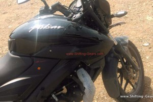 Bajaj Pulsar 180NS fuel tank picture