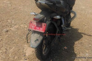 Bajaj Pulsar 180NS rear picture