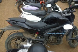 Bajaj Pulsar CS400 in black