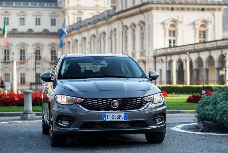 Fiat Tipo (Egea) front fascia