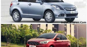 Ford Figo Aspire vs Maruti Swift Dzire