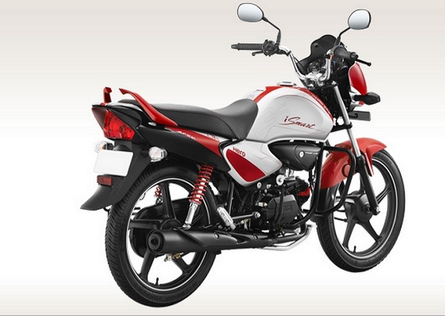 Hero Splendor iSmart rear-side profile