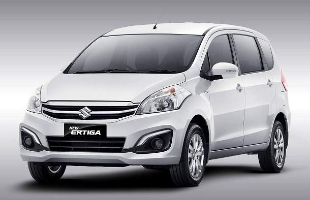 Maruti Ertiga facelift and hybrid