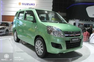 Maruti Suzuki WagonR MPV front