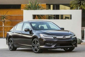 Honda Accord 2016 front side