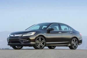 Honda Accord 2016 side profile