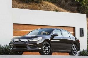 Honda Accord 2016 side view