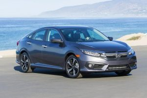 New Honda Civic 2016 side profile