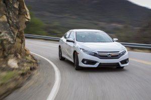 New Honda Civic 2016 in white
