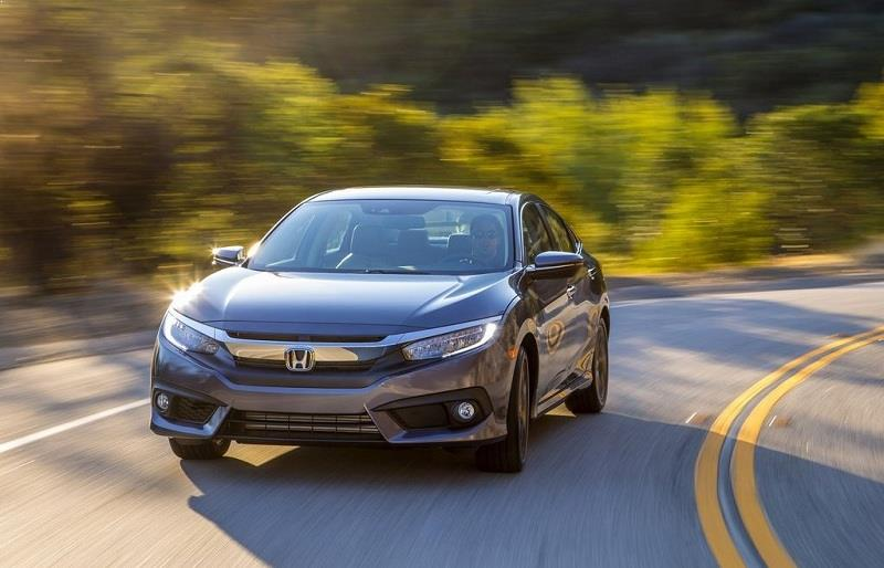 New Honda Civic 2016 front