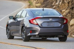 New Honda Civic 2016 rear