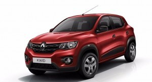 Reanault Kwid Front Side View