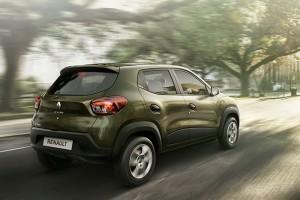 Renault Kwid rear view
