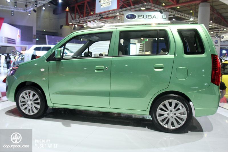 Suzuki WagonR MPV side pic