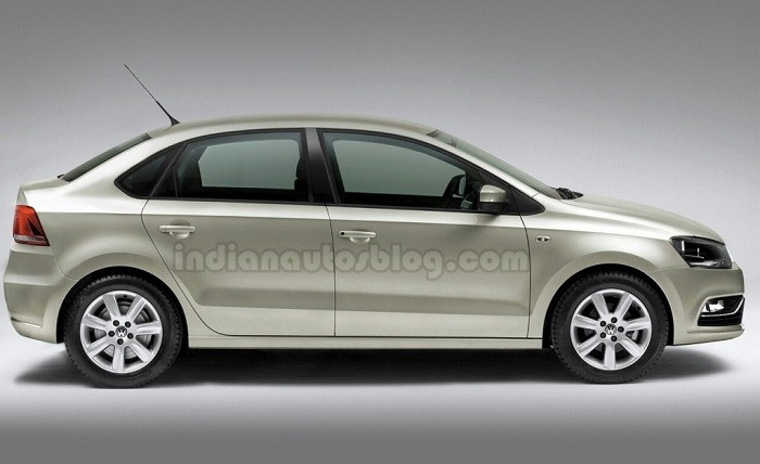 Volkswagen Polo Compact Sedan Launch Price In India Pics