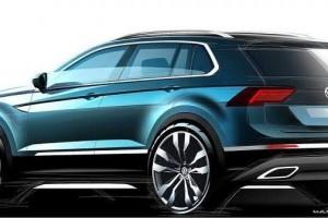 2016 Volkswagen Tiguan official sketches