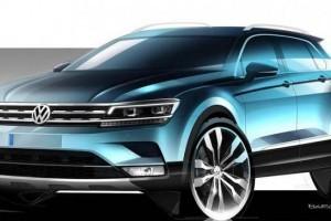 2016 Volkswagen Tiguan side profile