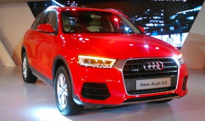 2015 Audi Q3 front pic