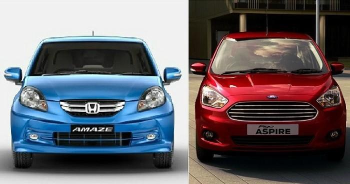 Ford Figo Aspire vs Honda Amaze