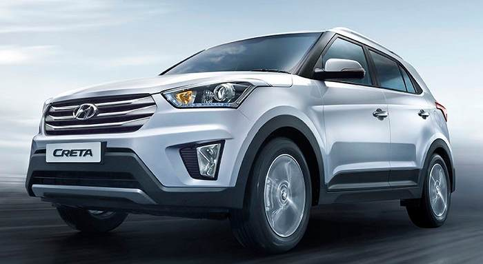 Hyundai Creta Front-side view pic