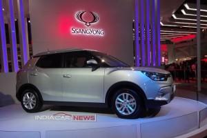 Mahindra Ssangyong Tivoli compact SUV