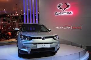 Mahindra Ssangyong Tivoli front