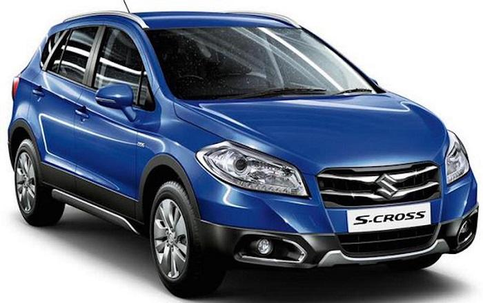 Maruti Suzuki S Cross front-side