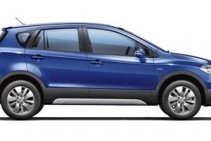 Maruti Suzuki S Cross side profile