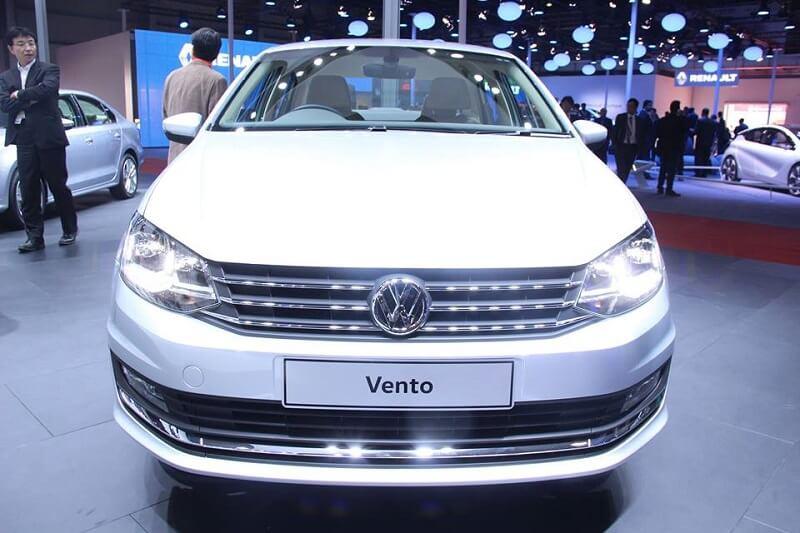 New Volkswagen Vento 2016 front profie