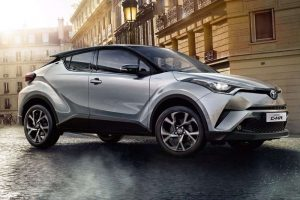 Toyota CHR Front Three Quarter