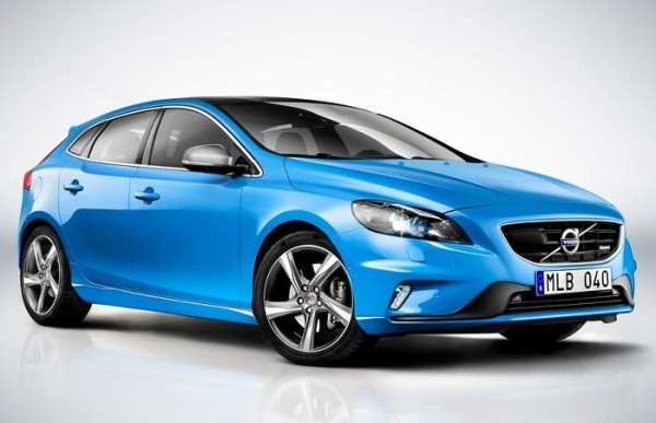 Volvo V40 Hatchback India front-side pic