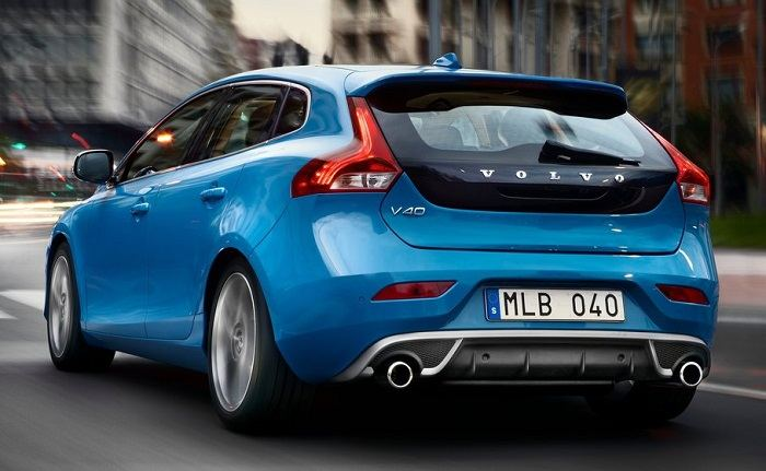 Volvo V40 Hatchback India rear pic