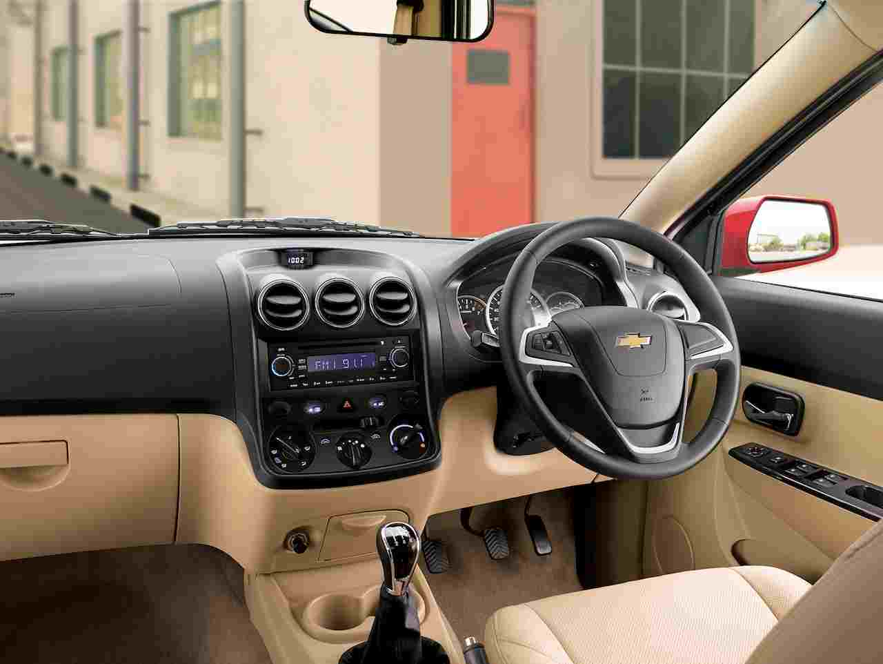 Chevrolet Enjoy 2015 Price, Mileage, Specs, Changes