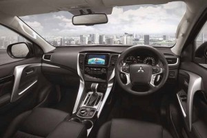 New Mitsubishi Pajero Sport Steering Wheel