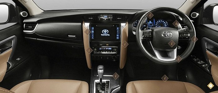 New Toyota Fortuner 2017 Exterior & Interior Image Gallery