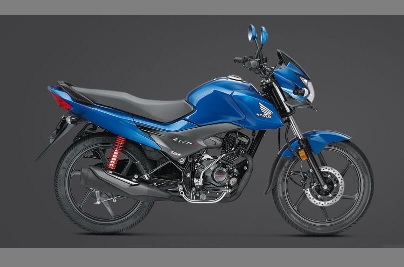2017 Honda Livo Blue