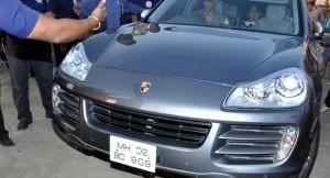 Akshay Kumar's Porsche Cayenne Car