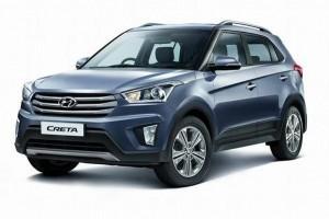 Hyundai Creta Grey Color front