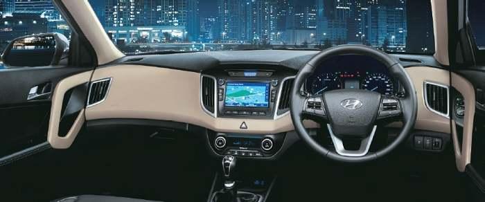Hyundai Creta interior pic