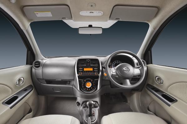 New Micra Automatic Interior