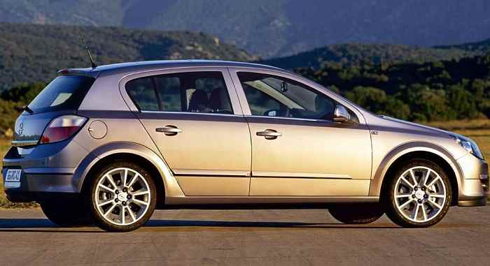 Sachin Tendulkar's Opel Astra