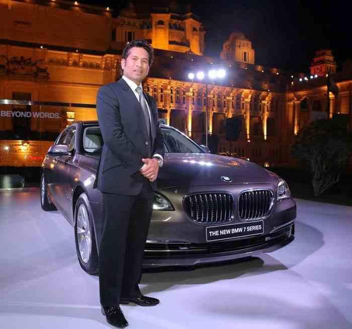 Sachin Tendulkar's BMW 7 Series